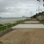 Concrete Boadwalk in Rockingham - warner brook concreting