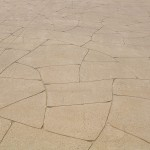 Flagstone concrete pattern - warner brook concreting