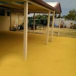 coloured concrete for patio - warner brook conreting