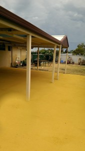 coloured concrete for patio - warner brook conreting