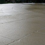 curved limestone pattern - warner brook concreting