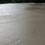curved limestone pattern - warner brook concreting