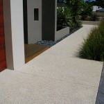 exposed aggregate concreting - warner brook
