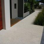 exposed aggregate concreting - warner brook