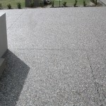 exposed aggregate driveway - warner brook concreting