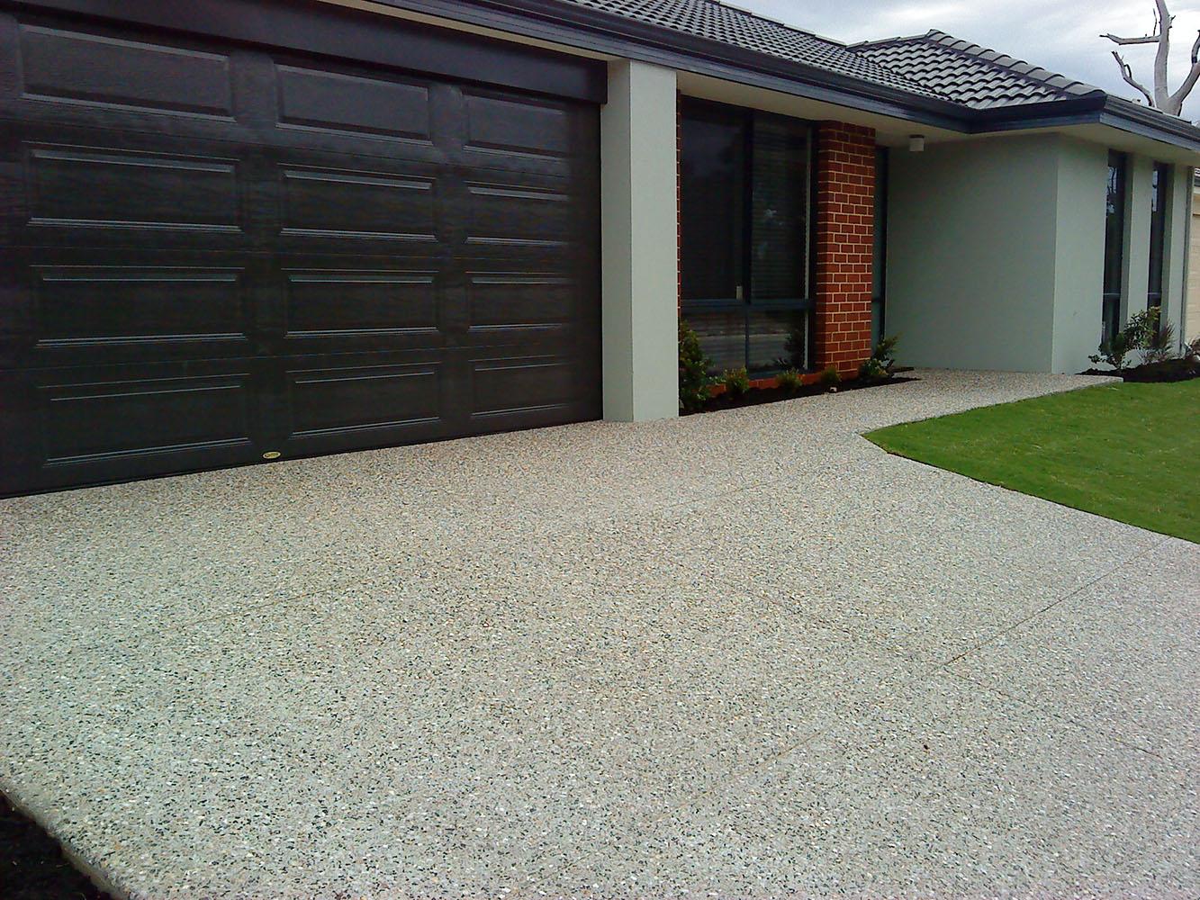 Exposed Aggregate Concrete Perth Warner Brook Concreting