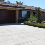 front concrete driveway - warner brook concreting