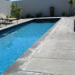 limestone concrete pool surrounds - warner brook concreting