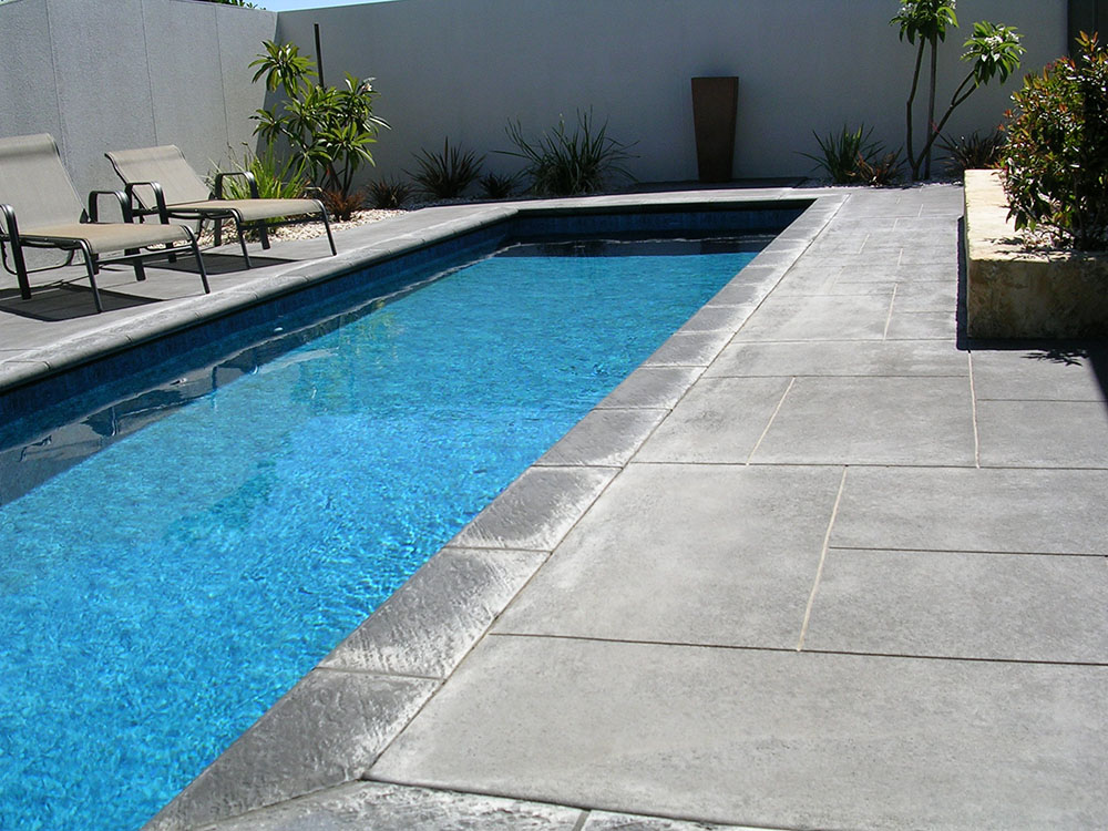 Liquid limestone perth liquid limestone concrete poured for Concrete pool