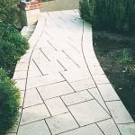 limestone path - warner brook concreting