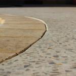 surround surround using honed concrete - warner brook concreting