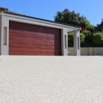 triple concrete driveway - warner brook concreting